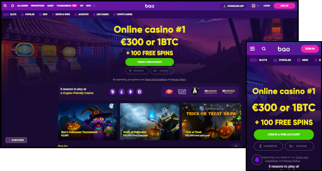 Android Bitcoin casino and ihpone Bitcoin casino