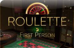 First Person Roulette from Evolution Gaming
