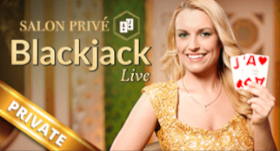 Salon Prive Blackjack from Evolution Gaming