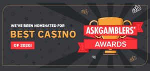 arcanebet nominated for askgamblers award in the best casino 2020 category